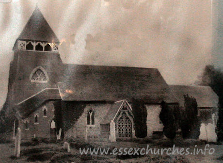 St Mary the Less, Great Warley Church - This is an image of Great Warley's old parish church. This one 