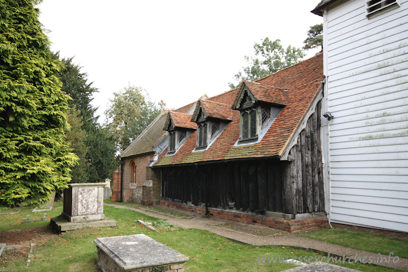 St Andrew, Greensted Church