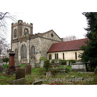 St Peter & St Paul, Dagenham Church - Here we see the church viewed from the South East. To the 