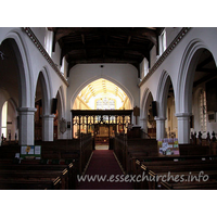 St Margaret, Barking Church - The clerestory windows seen here are C18, whilst the rest of 