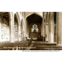 St Mary the Virgin, Dedham Church - Postcard by Judges Limited, Hastings