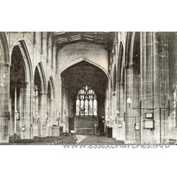 St Mary the Virgin, Dedham Church - Postcard by Fredk. Artis, Dedham