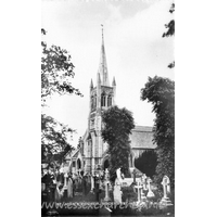 St John, Buckhurst Hill Church - Postcard by Cranley Commercial Calendars, Ilford, Essex.