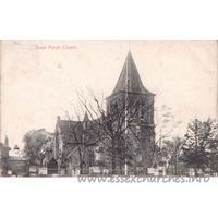 St Peter & St Paul, Grays Church - Postcard - Wilson & Whitworth Ltd., Printers, Grays.