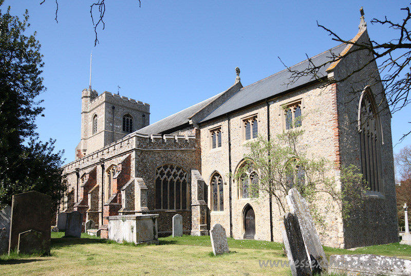 St Mary & St Lawrence, Great Waltham Church