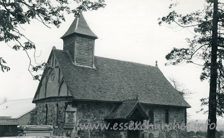 St Nicholas, Little Braxted Church - Dated 1968. One of a set of photos obtained from Ebay. Photographer and copyright details unknown.
