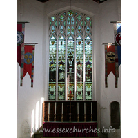 St John the Baptist, Thaxted Church - East Window - Kempe - 1900.