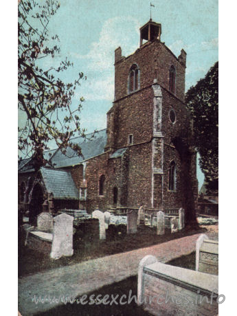 St Mary the Virgin, Wivenhoe Church - This beautiful series of Fine Art Post Cards is supplied free exclusively by Christian Novels Publishing Co.