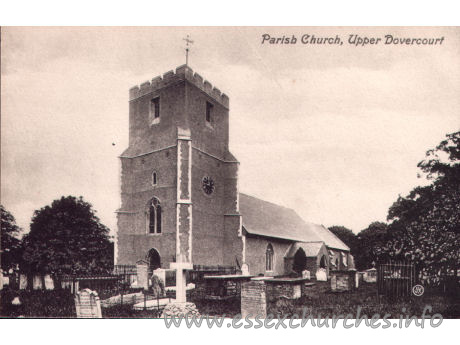 All Saints, Dovercourt Church - Postcard - Valentine's Series.