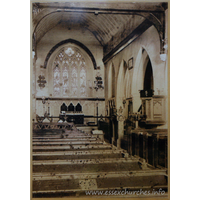 St Giles & All Saints, Orsett Church - From a picture displayed within the church.