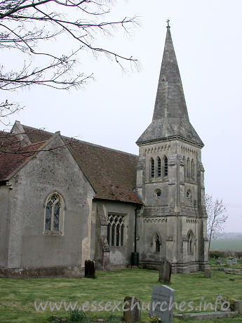 All Saints, Little Canfield Church