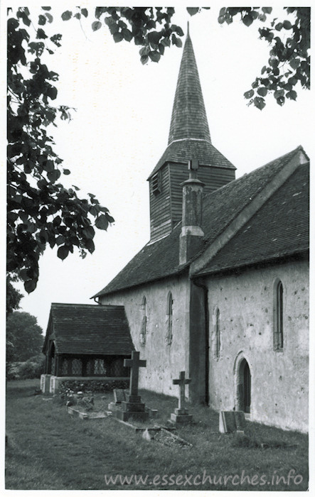 St Mary, Aythorpe Roding Church - Dated 1968. One of a series of photos purchased on ebay. Photographer unknown.