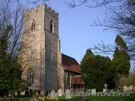 St Martin, White Roding Church