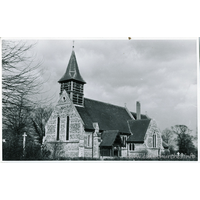 All Saints, East Hanningfield Church - Dated 1966. One of a series of photos purchased on ebay. Photographer unknown.