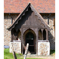 St Christopher, Willingale Doe Church