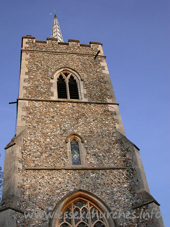 St Edmund, Abbess Roding Church