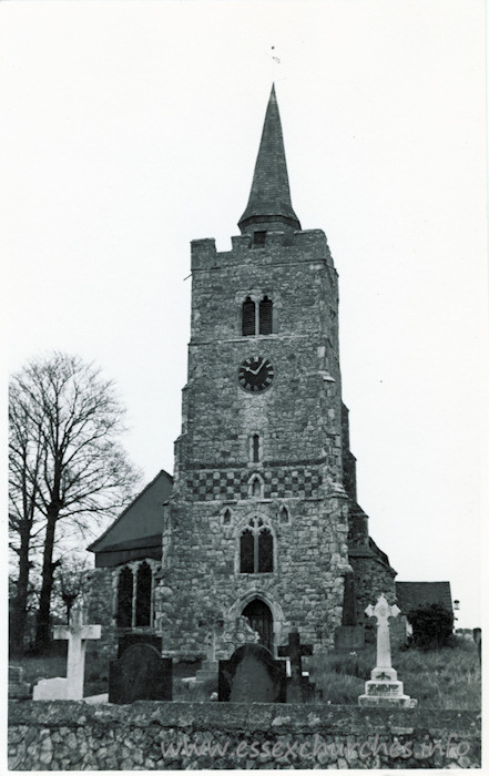 All Saints, Barling Church - Dated 1966. One of a series of photos purchased on ebay. Photographer unknown.