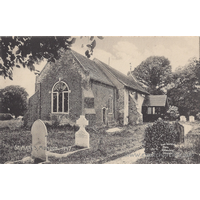 St Mary, Mundon Church - Spaldings Postcards - 1947