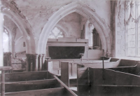 St Peter & St Paul, St Osyth Church - St Clere's Pew (called the Opera Box)