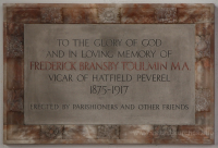 St Andrew, Hatfield Peverel Church