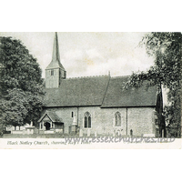 St Peter & St Paul, Black Notley Church - Black Notley Church, showing Ray's Tomb.