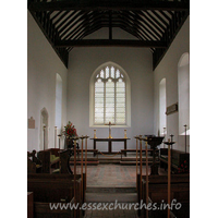St Mary, Buttsbury Church - This small C14 church consists of a short nave, with two bays. 
