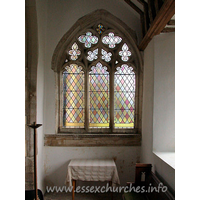 St Mary, Buttsbury Church - One of two original traceried windows discovered during a restoration in 1923.