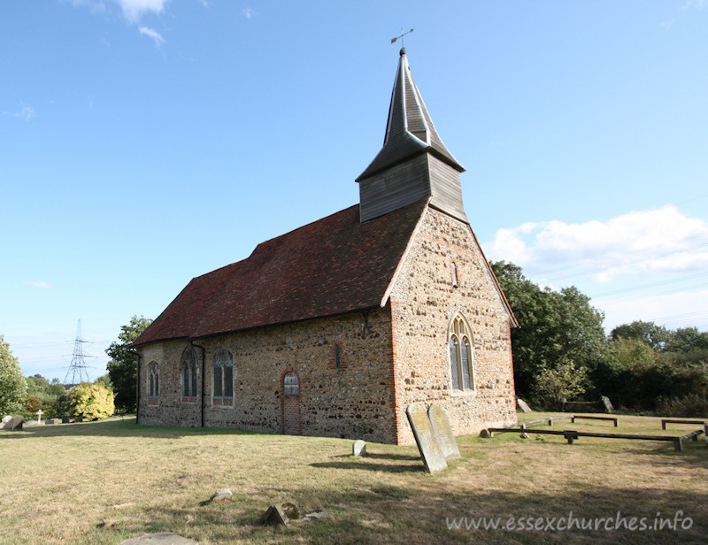 Holy Trinity, Bradwell-juxta-Coggeshall Church