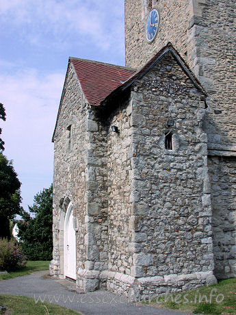 "St Nicholas, Great Wakering Church - From Pevsner: ""The most singular feature of this church is 