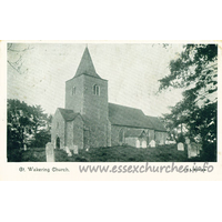 St Nicholas, Great Wakering Church - Postcard - The IXL Series