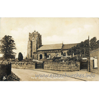 St Peter, Sible Hedingham Church - Postcard by Raphael Tuck & Sons Ltd. (The World's Art Service)