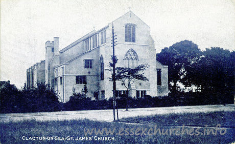 St James, Clacton-on-Sea  Church - Wedgwood Series.