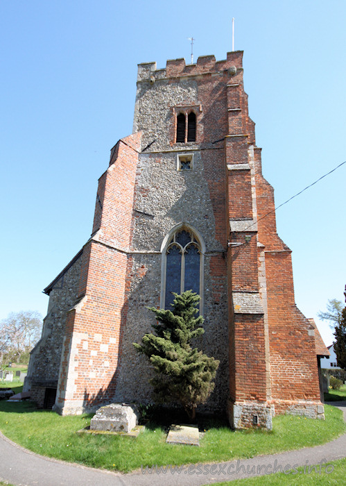 St Martin, Little Waltham Church