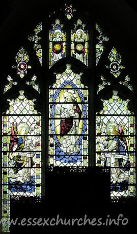 St Mary the Virgin, Great Bardfield Church - Partially obscured - this is the E window.