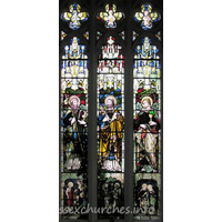 St Mary the Virgin, Great Bardfield Church - The E window of the S chapel.