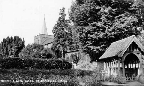 St Mary the Virgin, Great Bardfield Church - Many thanks to Brenda Jones of New Zealand for supplying this 