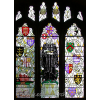 St Laurence & All Saints, Eastwood Church - The W window.