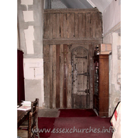 St Laurence & All Saints, Eastwood Church - Entrance to the priest's vestry.