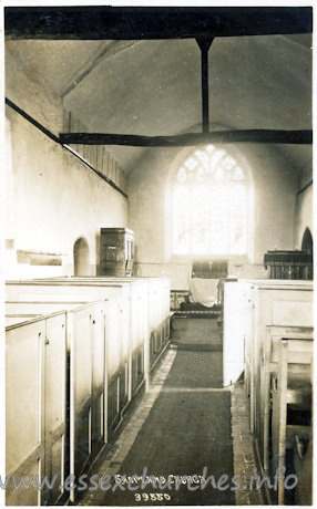St Mary, Shopland Church
