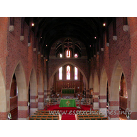 All Saints, Southend-on-Sea  Church - This photo shows the view from the W gallery, looking towards 