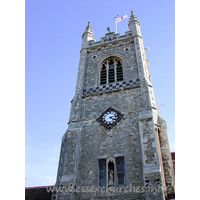 St Margaret of Antioch, Stanford-le-Hope Church - This tower sits at the east end of the North Aisle. It is 
