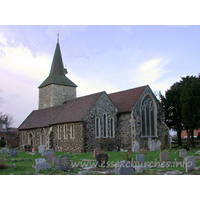 St Mary, Stifford Church - This view from the South East shows the late C13 S chancel 