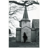 St Mary & St Edward, West Hanningfield Church - Dated 1966. One of a series of photos purchased on ebay. Photographer unknown.