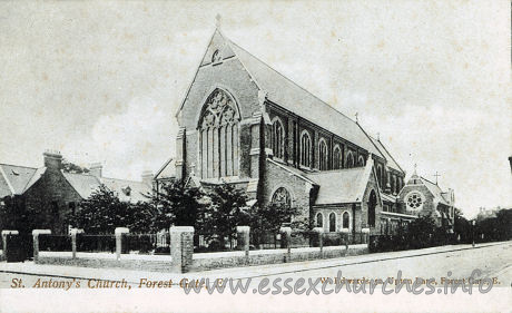 St Antony (Catholic), Forest Gate Church - W. Edwards, 52 Upton Lane, Forest Gate, E.