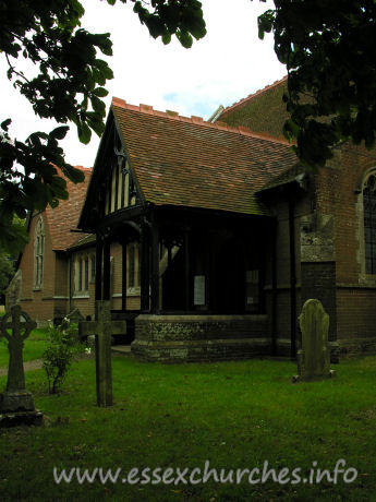St Andrew, Weeley Church - The north porch.