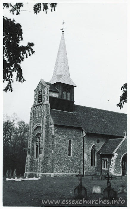 All Saints, Great Braxted Church - Dated 1968. One of a series of photos purchased on ebay. Photographer unknown.