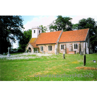 St Ethelbert & All Saints, Belchamp Otten Church - Postcard printed by Thought Factory, Leicester. Photograph by Roy Filby.