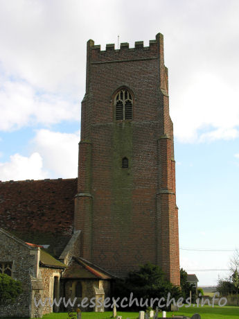 All Saints, Great Holland Church