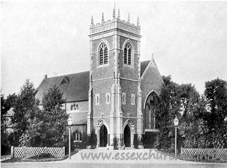 Children's Church, Barkingside (Dr Barnardo) Church - This image was kindly supplied by Frank Cooke - Web Manager, goldonian.org.