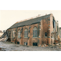 York Road Methodist Church, Southend-on-Sea  Church - Dated December 1987, this photograph has been kindly supplied by John Underwood.